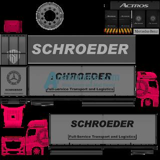 Download Livery Truck Actors Pink Roda 10
