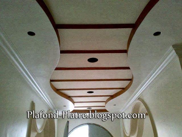 Incroyable Decoration Faux Plafond Salon 9 Arc En Platre