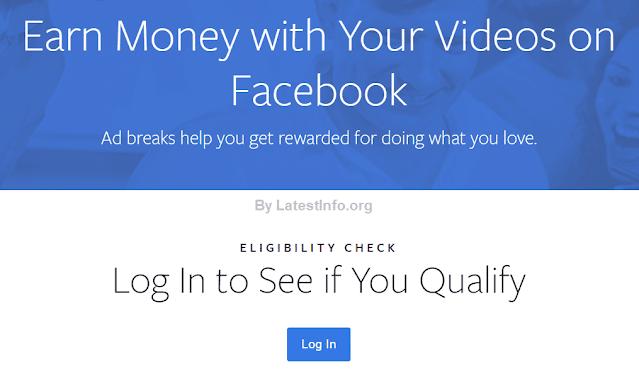 How to Monetize Facebook videos
