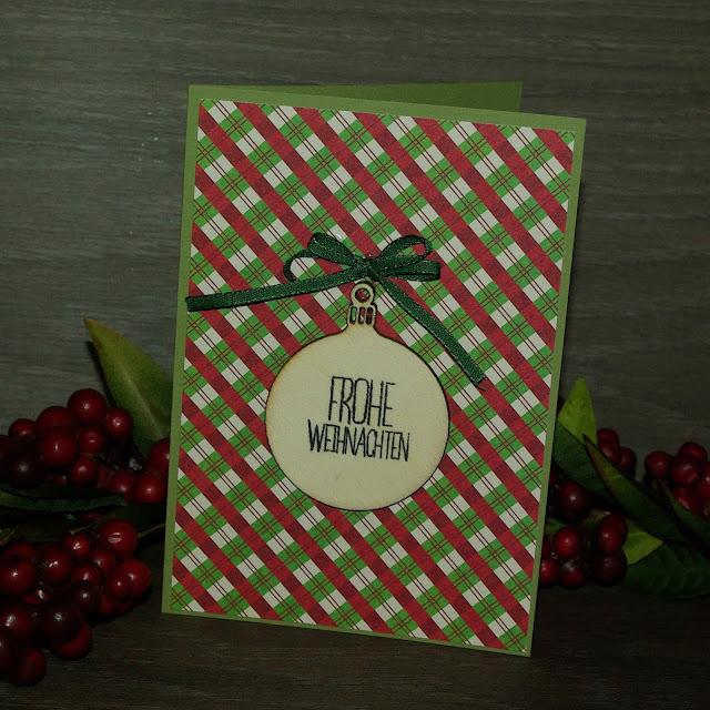 [DIY] Last Minute Weihnachtskarte  Last Minute Christmas Card