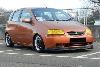 Chevrolet Aveo LT Modifikasi
