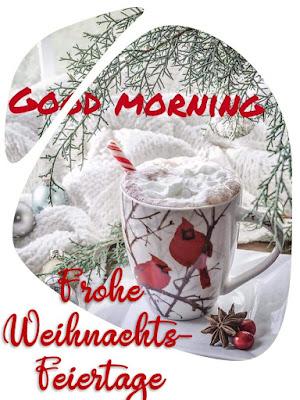 Guten morgen 2. Weihnachtsfeiertag