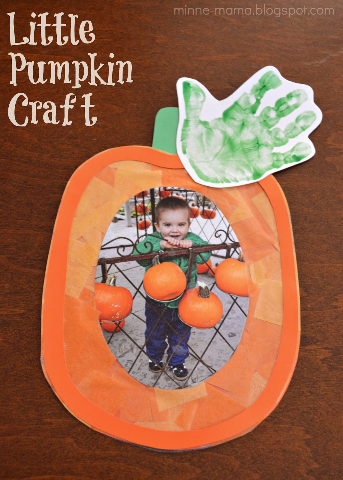 Minne Mama Little Pumpkin Craft