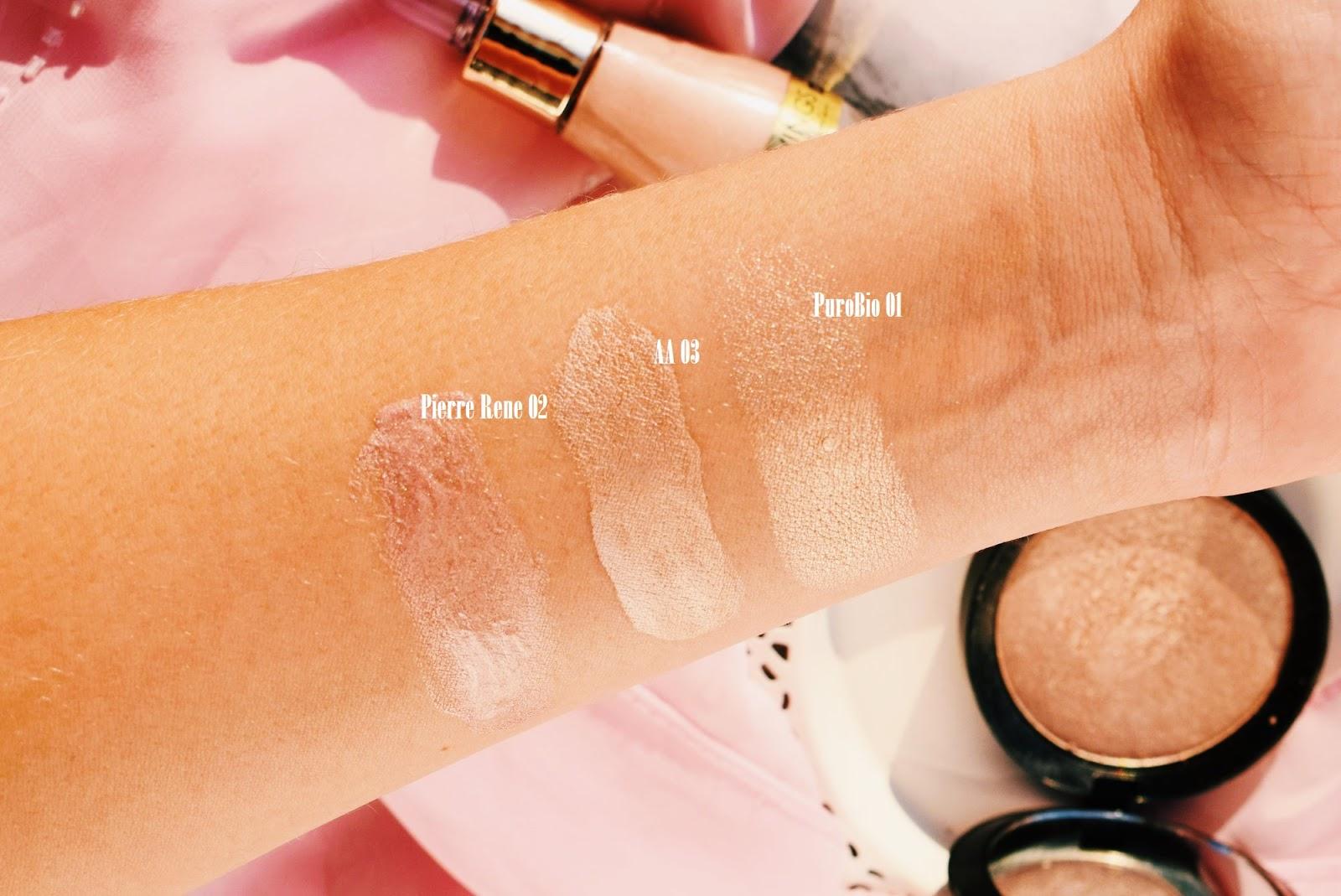 Rozświetlacz w płynie  Kosmetyki AA