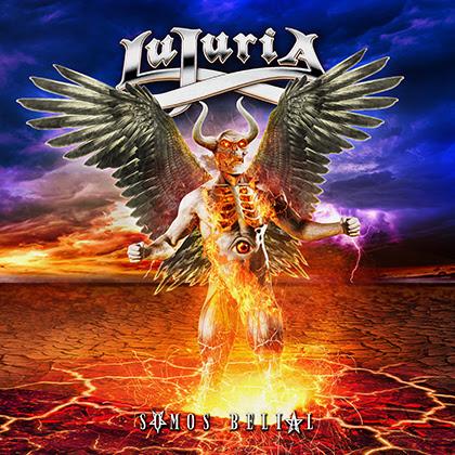 Lujuria Somos Belial Album cover