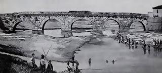 Ponte di tiberio storico antico