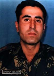 Kargil Hero Captain Vikram Batra