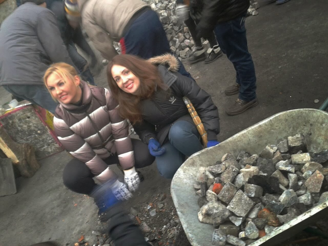 Kamalia cleaned up in the center of Kiev