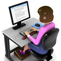 Cara Sehat Menggunakan Komputer/ Laptop Dengan Baik