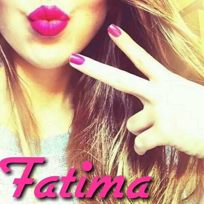 Fatima name dp pics for facebook and whatsapp