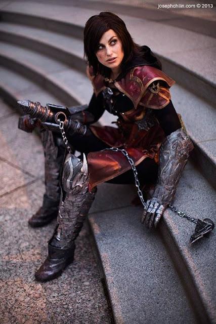 Meagan Marie cosplay.
