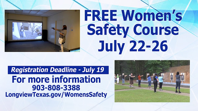 Longview police's free women's handgun safety class trains with simulated scenarios