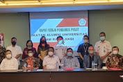 IKA Unsrat Raker Bersama Bahas Program Kerja