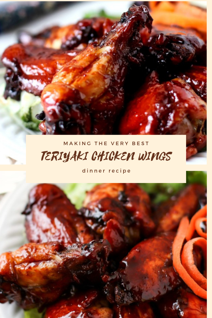 #TERIYAKI #CHICKEN #WINGS