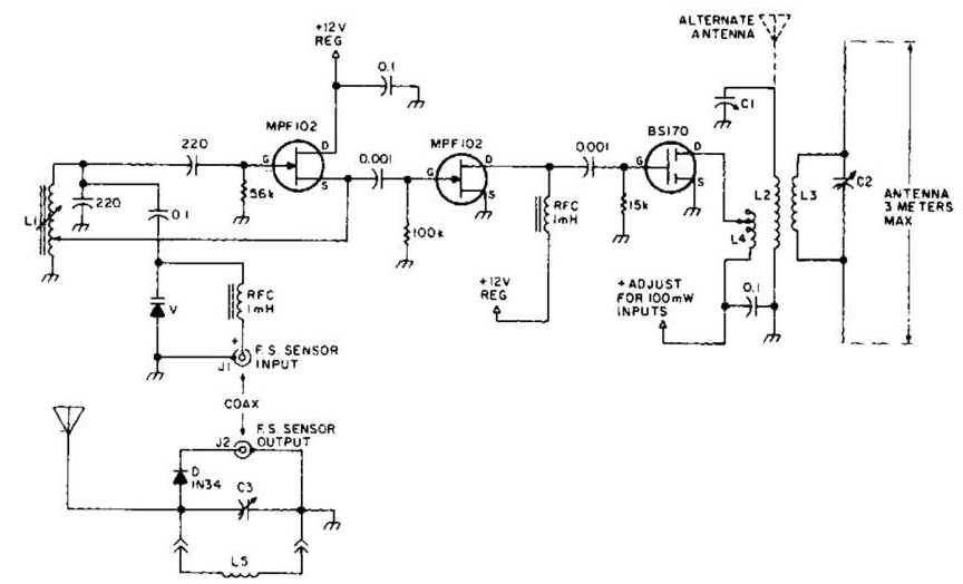 Remote Field Strength Meter Circuit Diagram on Rotary Phase Converter Wiring Diagram