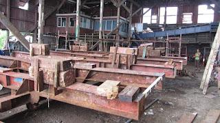Besuch der MISEL Werft in Suva
