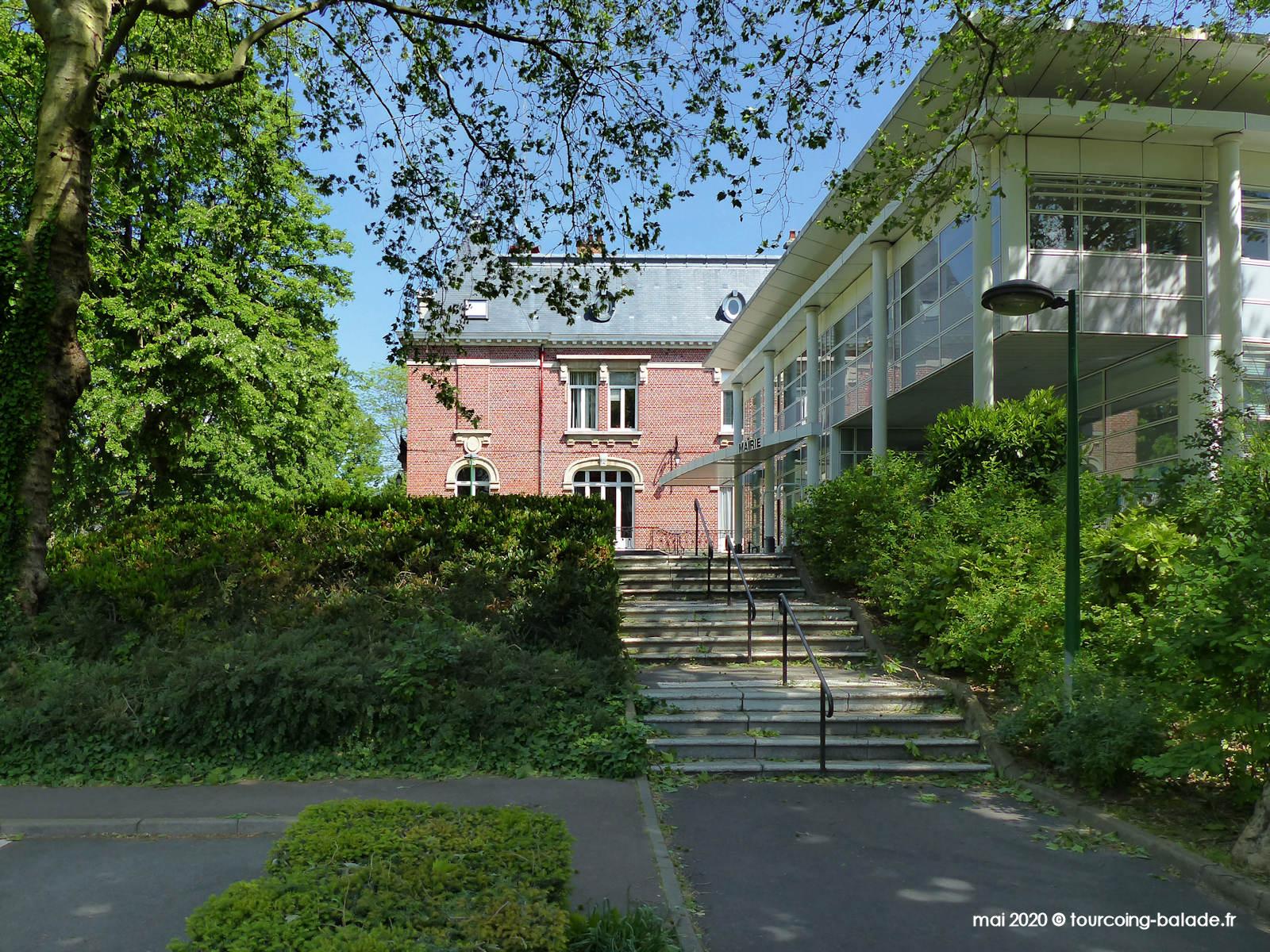 Bâtiment contemporain de la Mairie de Mouvaux, 2020