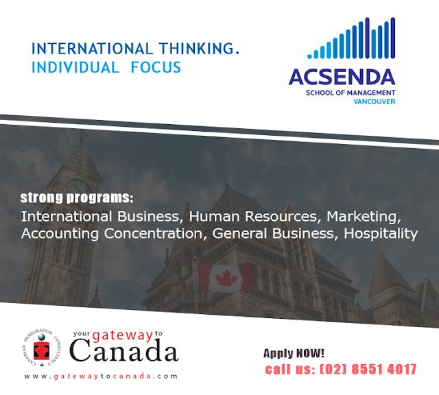 Acsenda School of Management (ASM) - Vancouver, British Columbia