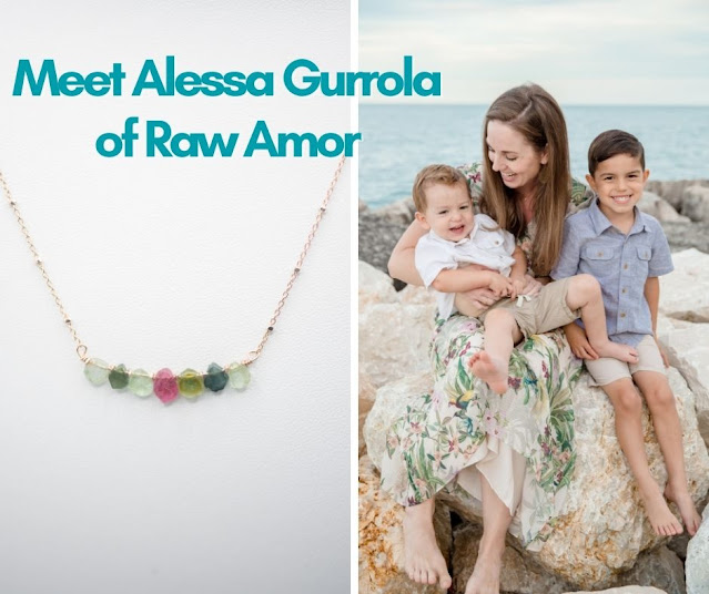 Meet Alessa Gurrola, the Chicago Area Jewelry Designer and Entrepreneur Behind Raw Amor