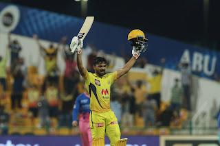 Ruturaj Gaikwad 101* vs Rajasthan Royals Highlights