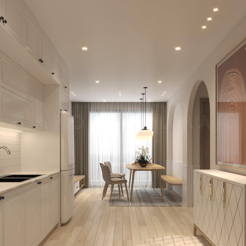 Thiết kế nội thất căn hộ 2PN+1 Vinhomes Ocean Park Gia LâmThiết kế nội thất căn hộ 2PN+1 Vinhomes Ocean Park Gia Lâm