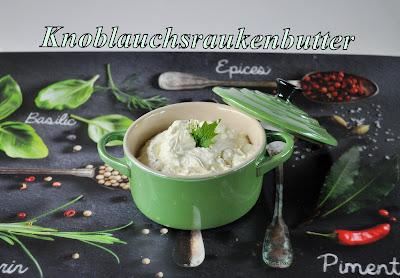 Knoblauchsrauken-Butter