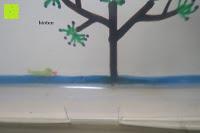 blass: Kreidemarker – 10er Pack neonfarbene Markerstifte. Für Whiteboard, Kreidetafel, Fenster, Tafel, Bistros – 6mm Kugelspitze mit 8 Gramm Tinte