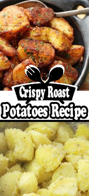 The Best Crispy Roast #Potatoes Ever Recipe
