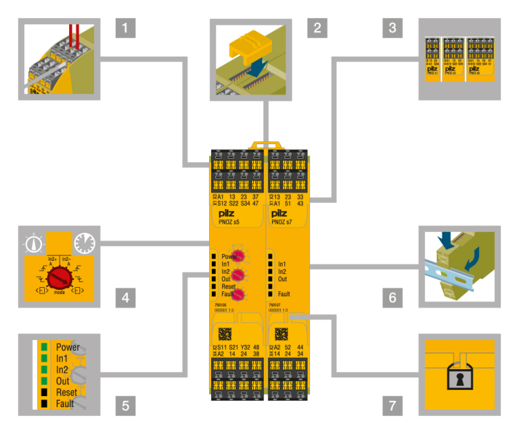 allen bradley safety contactor wiring diagram led bulb pilz relay circuit ~ odicis