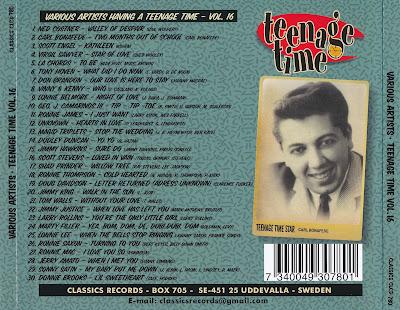 Various Artists - Teenage Time Volume 16