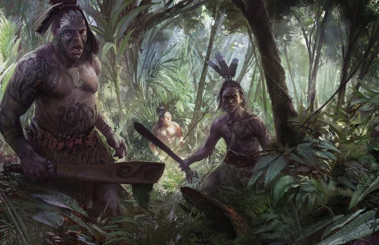 Fdra Fuerza Terrestre Haka Men Los Maories Como Temibles Guerreros - Tribus-maories