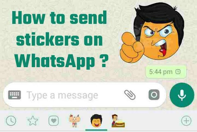 How to send stickers on Whatsapp Android?