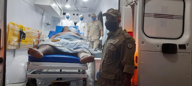 Carlinhos não resiste as complicações da covid-19 e morre na noite desta quinta (01) no Hospital Regional de Patos
