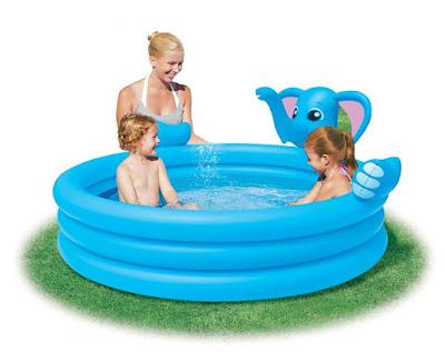Kolam renang anak dan bayi bentuk gajah bestway