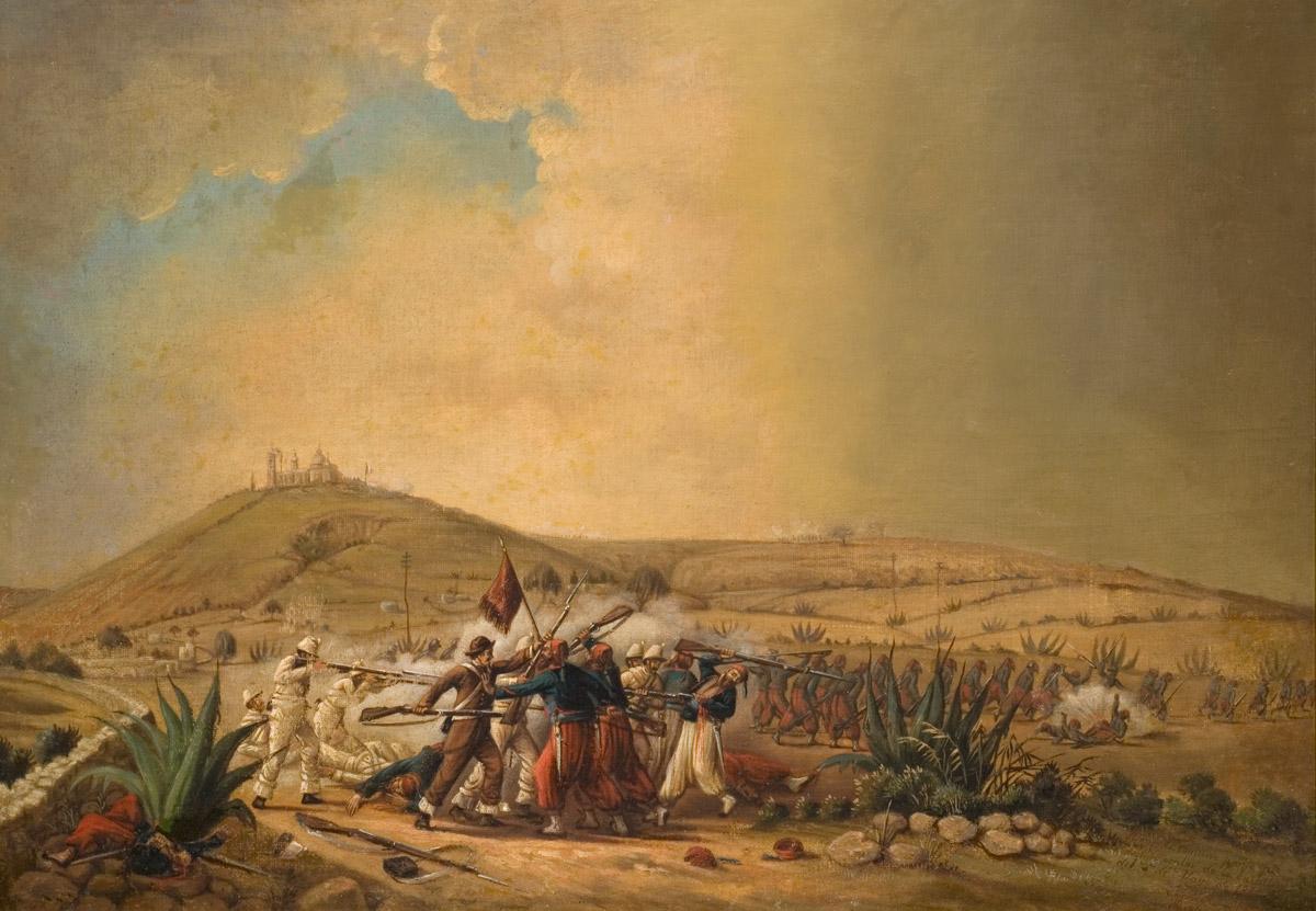 ¿Por qué inicio la Batalla de Puebla?