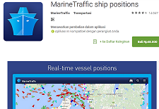 sudah memposting warta cara mengecek keberadaan pesawat terbang melalui  Cara Mengecek Posisi (Tracking) Seluruh Perjalanan Kapal Laut di Dunia Secara Real Time
