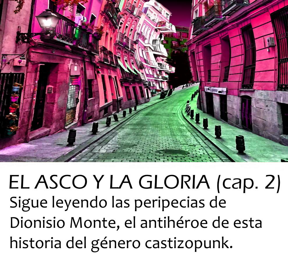 El asco y la gloria (D. D. Puche) | Onirium. Fantasía, terror y ciencia ficción.