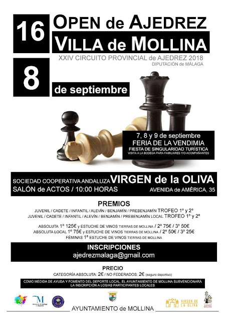 XVI Open de Ajedrez Villa de Mollina