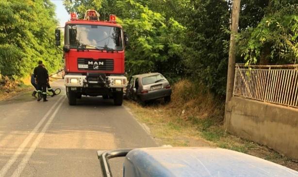 36χρονος έχασε τη ζωή του όταν έπεσε με το αυτοκίνητο του πάνω σε δέντρο