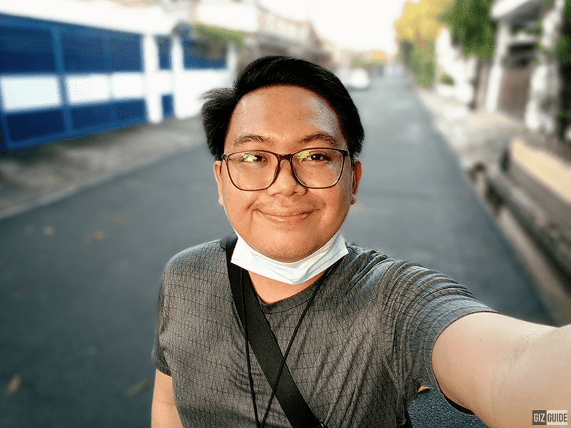 Selfie Portrait mode