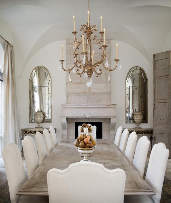Dining Room Mirror: Lamb & Blonde: Dining In Style