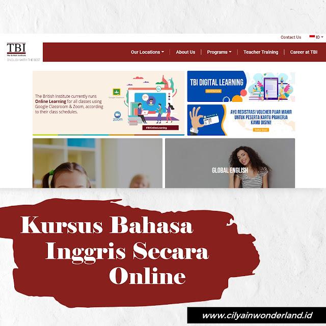 Kursus Belajar Bahasa Inggris Secara Online - TBI (The British Institute) Kuningan