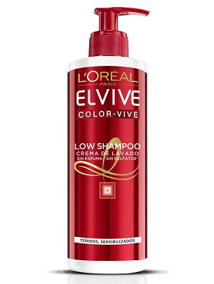 L'Oréal Elvive Aceite Extraordinario Low Shampoo cabello teñido sensibilizado