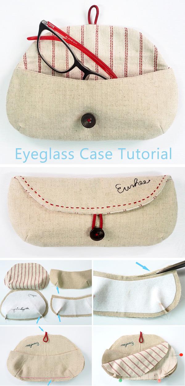 Eyeglass Case Tutorial