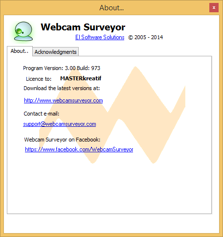 Webcam Surveyor 3.0.0