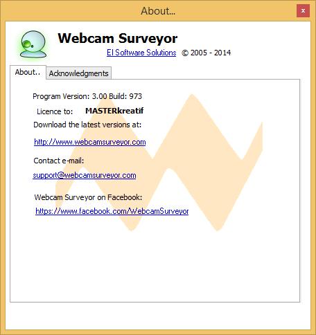 Webcam Surveyor 3.0.0