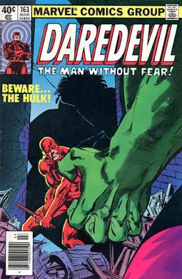 Daredevil #163, the Hulk