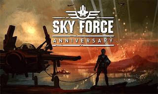 تحميل لعبة حرب الفضاء Sky Force Anniversary على الأندرويد بوكس
