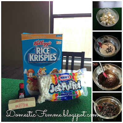 Minecraft Birthday Party: Black Coal Rice Krispies #Parties #Birthdays #DIY #Character #Characters #Supplies #Idea #Ideas #TNT #Twizzlers #Torches #Chocolate #Dipped #Pretzel #Pretzels #Rods #Rods #Dirt #Brownie #Brownies #Coal #Rice #Krispies #Treats #Krispie #Crispie #Crispies #Zombie #Zombies #Boogers #Booger #Popcorn #Corn #Candy #Stickers #Enderman #Steve #Creeper #Printables #Printable #Cake #Instruction #Instructions #Instuctable #Instructables #Tutorials #Ghost