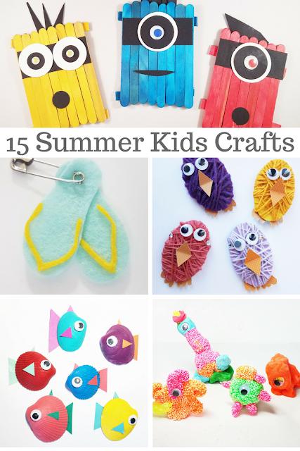 Scraps Of Reflection Summer Fun Kids Crafts Activities Locallegends